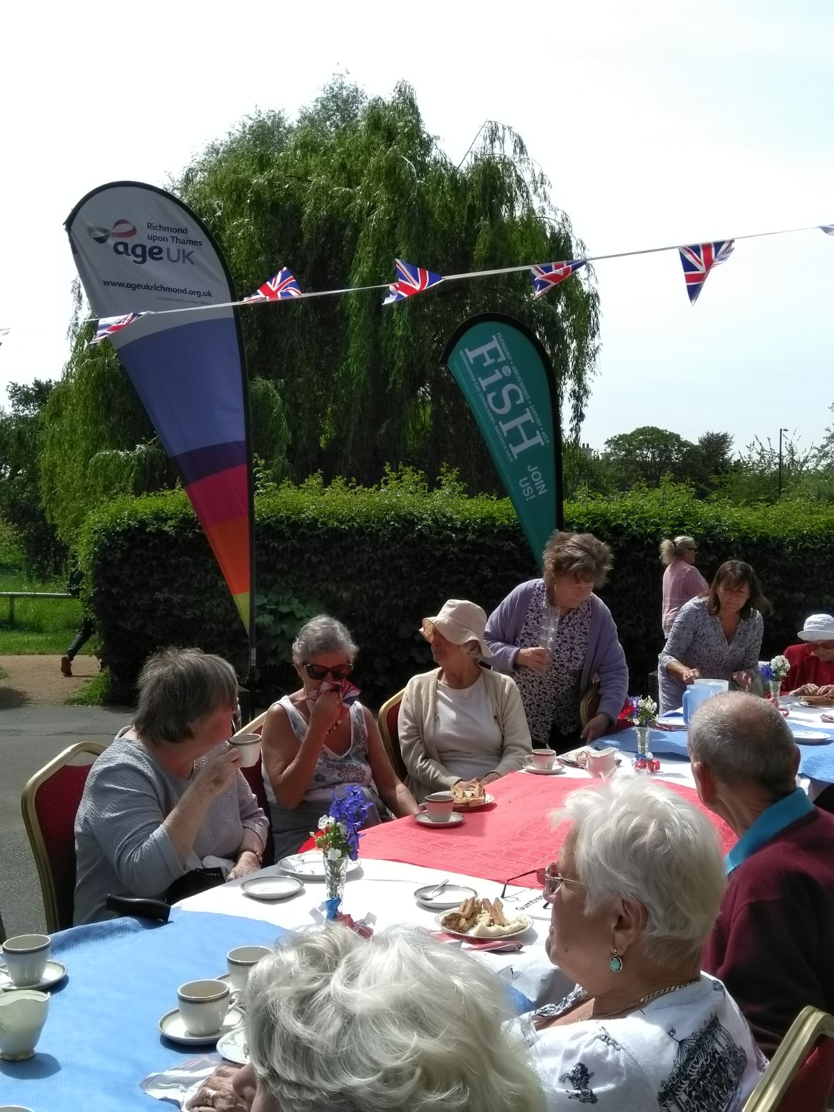 Age UK and FiSH Lunch